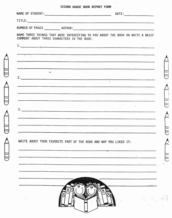 Printable Book Report forms Beautiful 8 Best Of Printable Book Report forms Printable