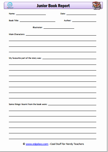 Printable Book Report forms Beautiful Best S Of Printable Book Report forms Free Book