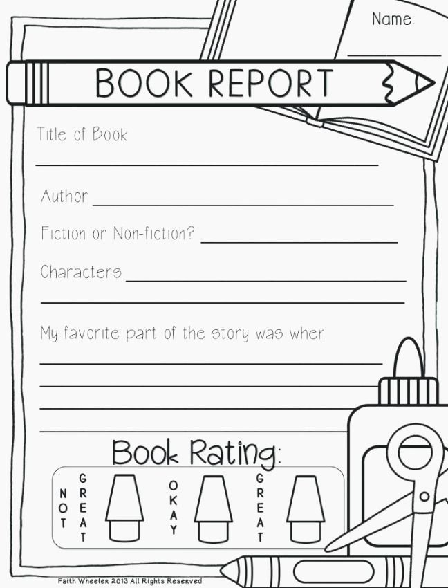 Printable Book Report forms New Obsessed Free Printable Books for Kindergarten