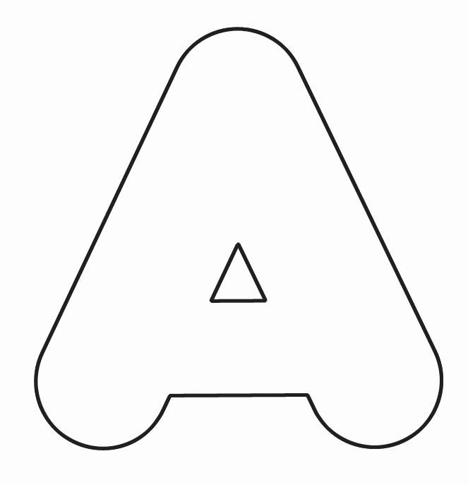 Printable Bubble Letter Stencils Elegant 4 Inch Block Letter Stencils Printable Printable Pages