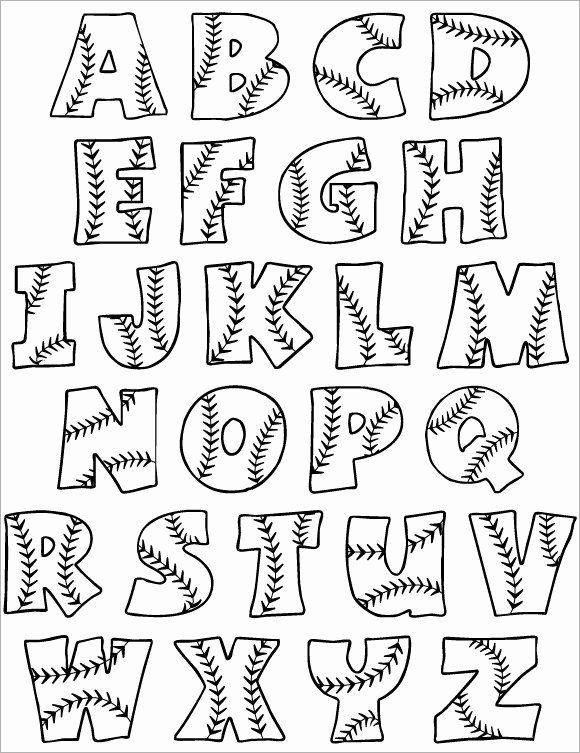 Printable Bubble Letters Font Fresh 30 Alphabet Bubble Letters Free Alphabet Templates