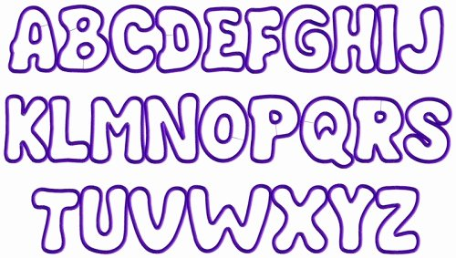 Printable Bubble Letters Font Unique Free Other Font File Page 4 Newdesignfile