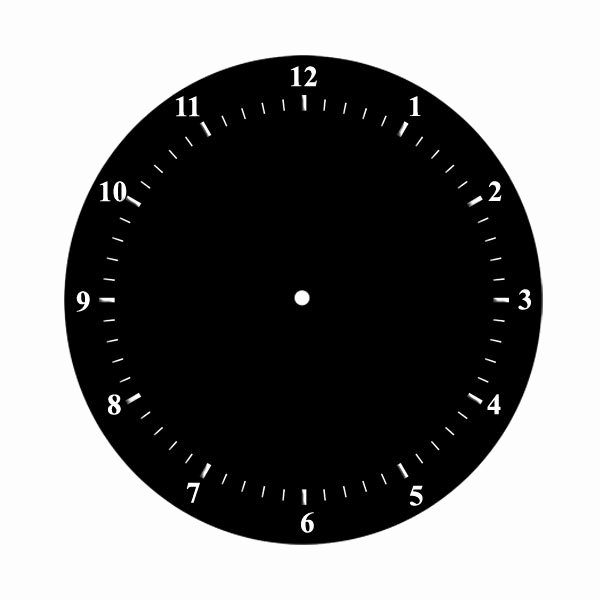 Printable Clock Face with Hands Fresh Printable Clock Face No Hands Mike Folkerth King Of Simple