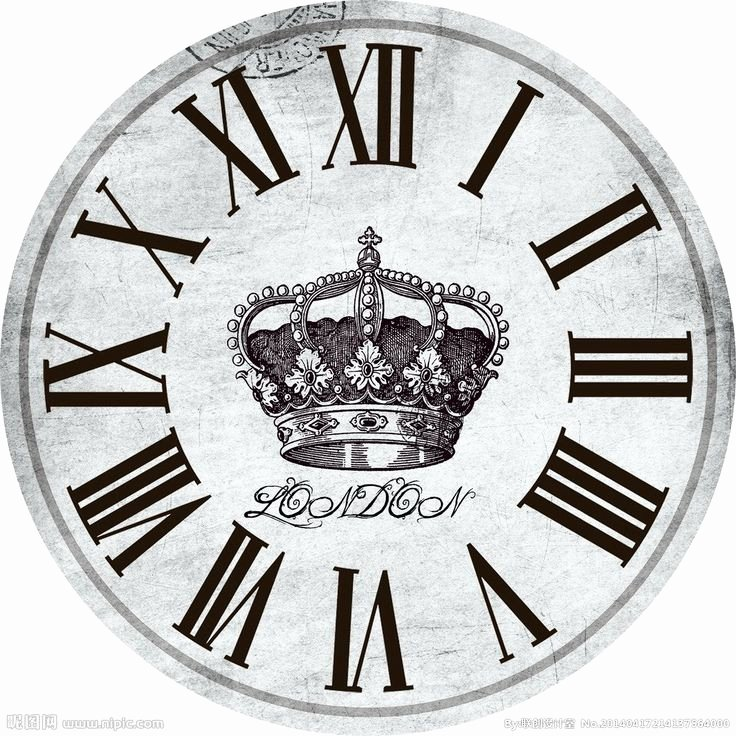 Printable Clock Face with Hands Lovely 347 Best Crafts Miniature Printables Images On Pinterest