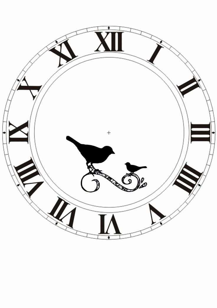 Printable Clock Face with Hands New Best 25 Clock Faces Ideas On Pinterest