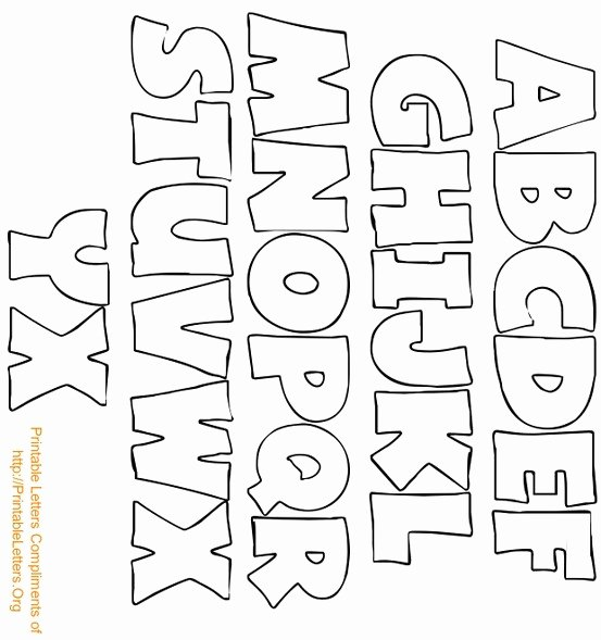 Printable Cut Out Letters Alphabet Inspirational Alphabet Bubble Letters Art Worksheet