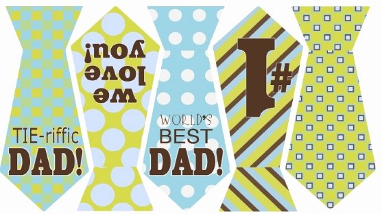 Printable Fathers Day Tie New Free Father S Day Tie Banner