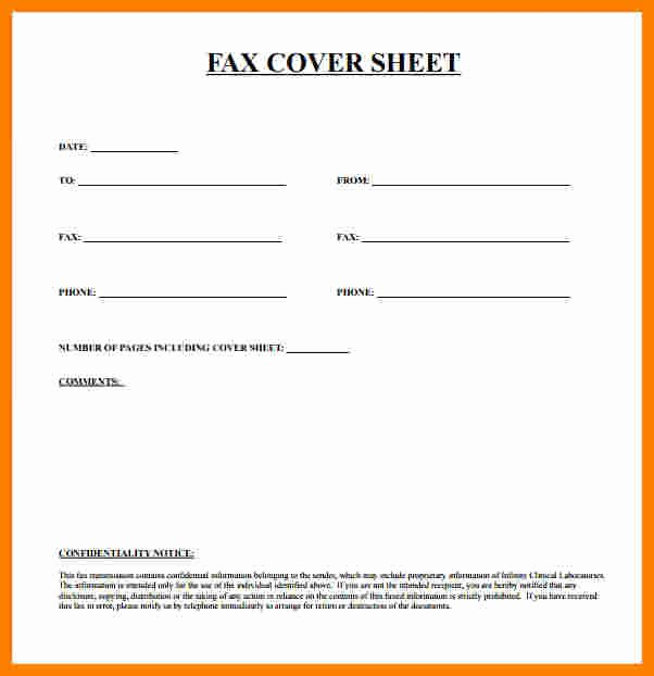 Printable Fax Cover Page Fresh 8 Free Fax Cover Sheet Printable Pdf