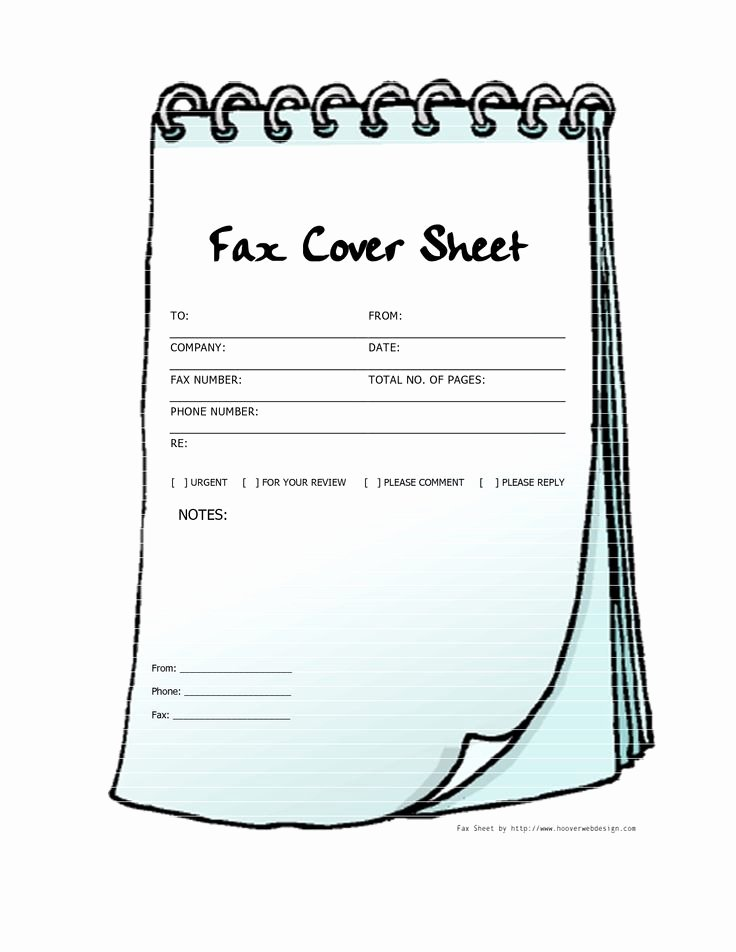 Printable Fax Cover Sheet Fresh Free Printable Fax Cover Sheets