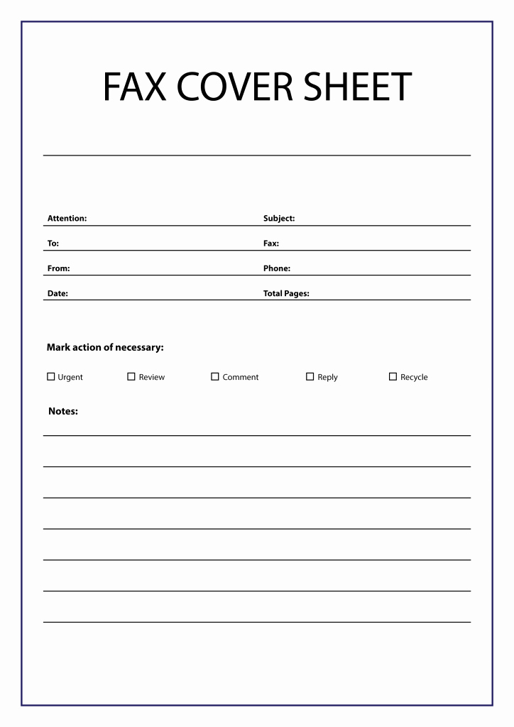 Printable Fax Cover Sheet New Free Fax Cover Sheet Template [pdf Word Google Docs] Faq