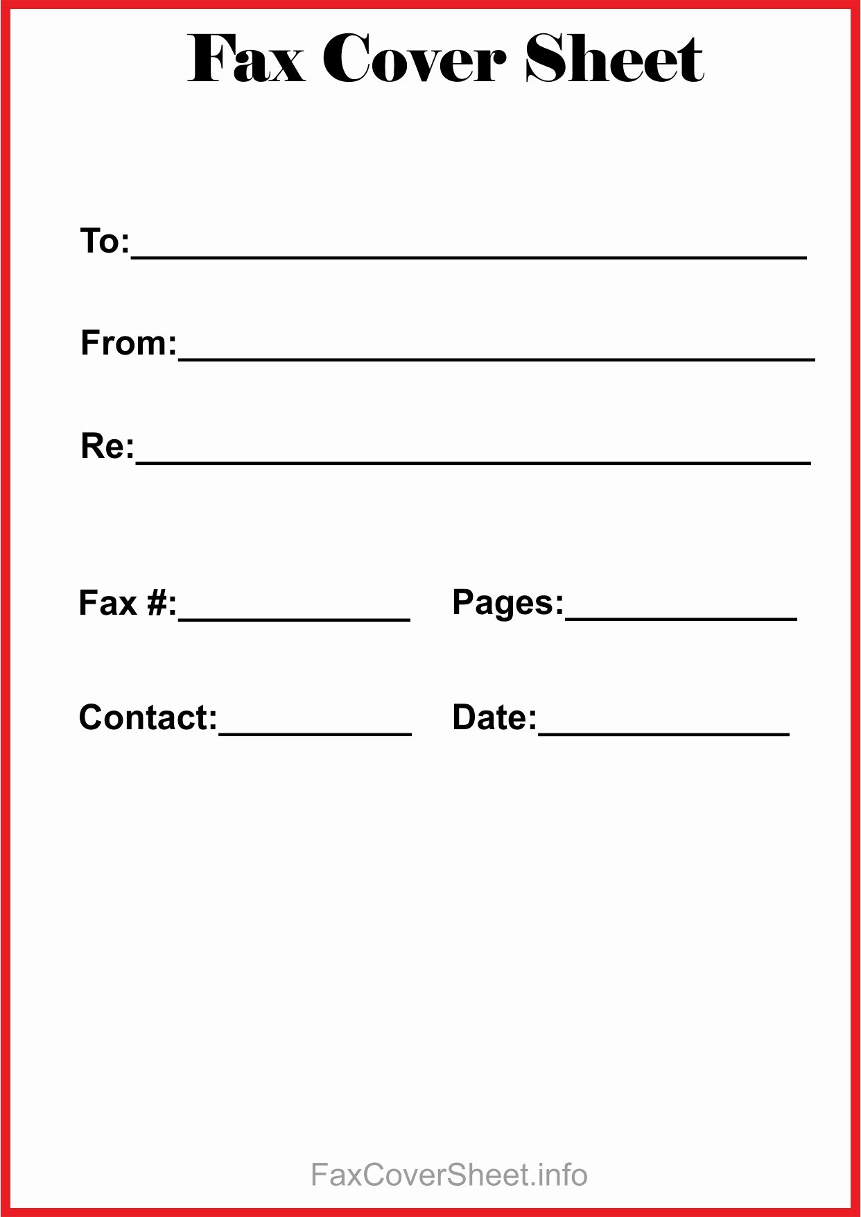 Printable Fax Cover Sheet Unique Free Printable Fax Cover Sheet Pdf Download $367