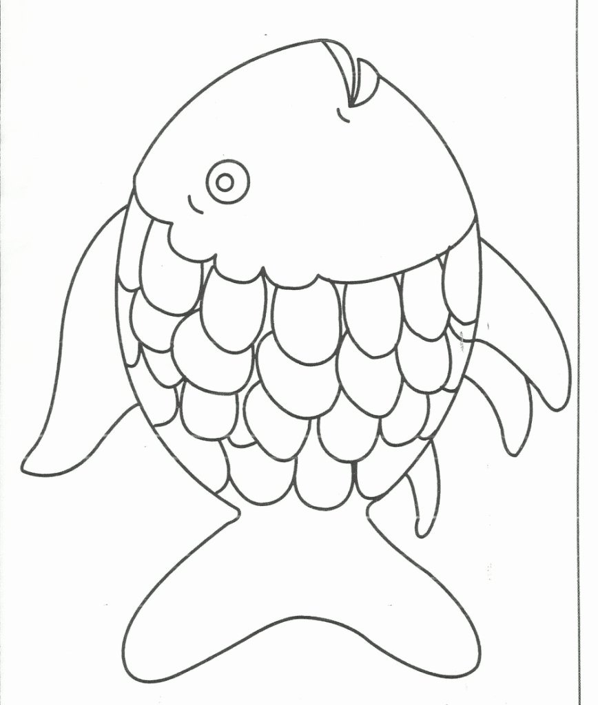 Printable Fish Colouring Pages Best Of Fish Coloring Pages for Preschool Preschool and Kindergarten