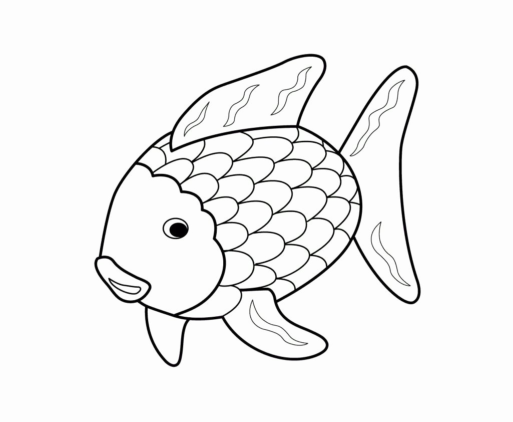 Printable Fish Colouring Pages Inspirational Printable 17 Rainbow Fish Coloring Pages 5144 Rainbow