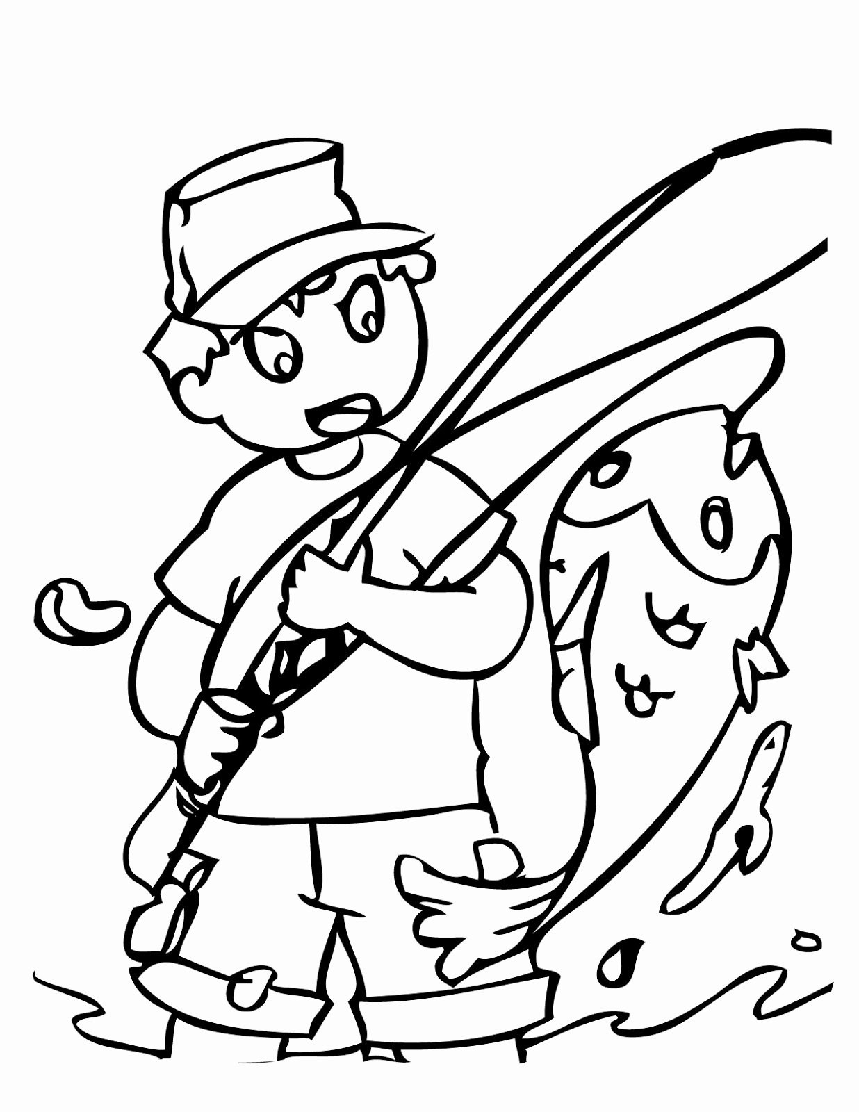 Printable Fish Colouring Pages Luxury Moodus Sportsmen S Club