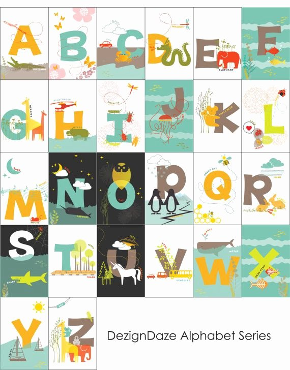 Printable Flashcards for Babies Beautiful Printable Abc Alphabet Flash Cards All 26 Alphabets