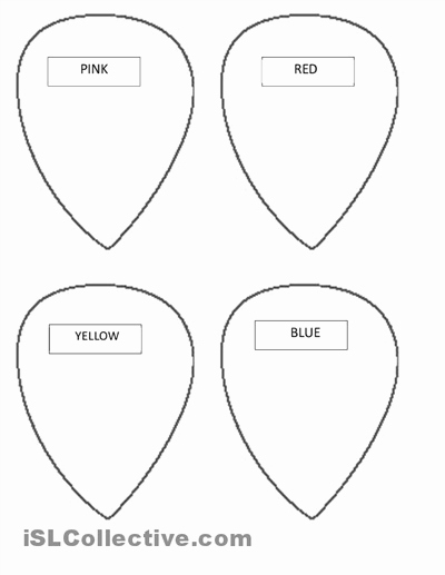 Printable Flower Petal Template Pattern Best Of 14 Best Of Worksheets Writing with Details