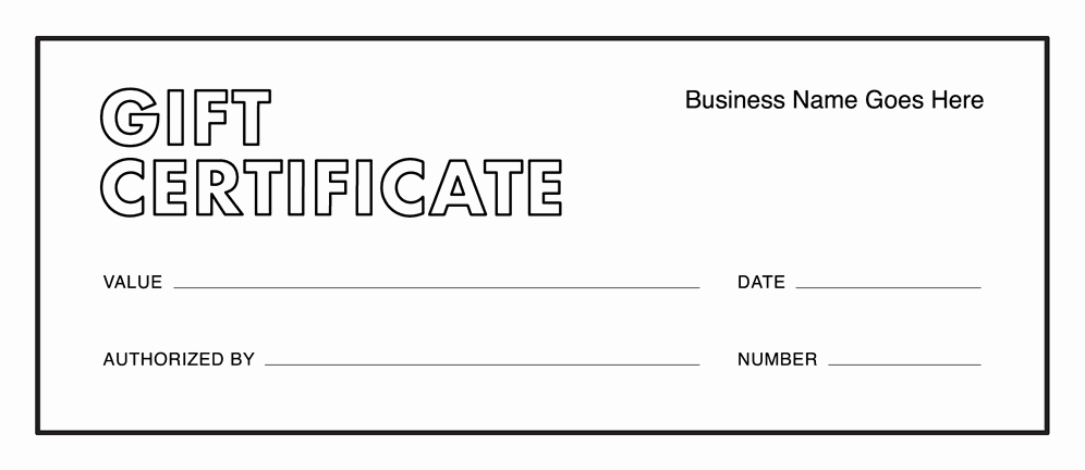 Printable Gift Certificates Templates Free Beautiful Gift Certificate Templates Download Free Gift