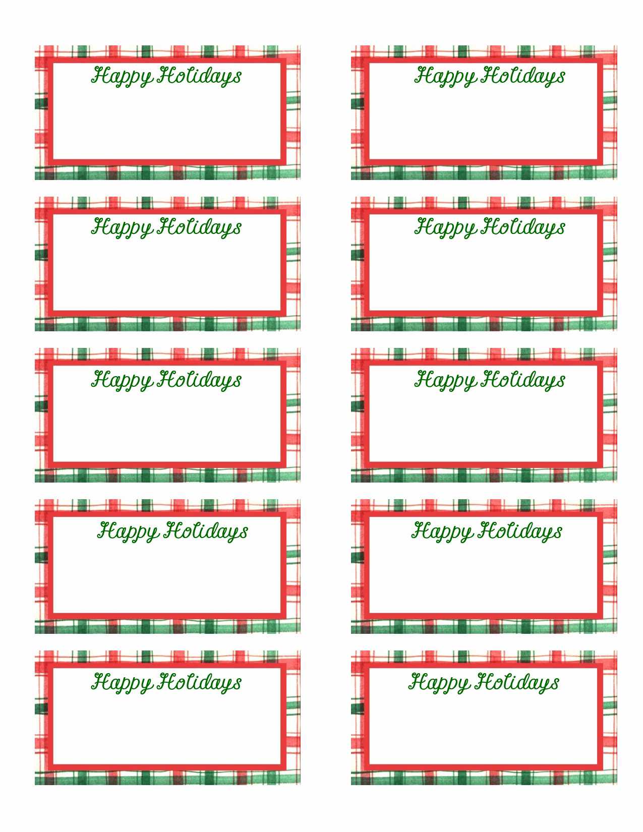 Printable Gift Tag Template Elegant Best S Of Christmas Gift Tags Printable Templates