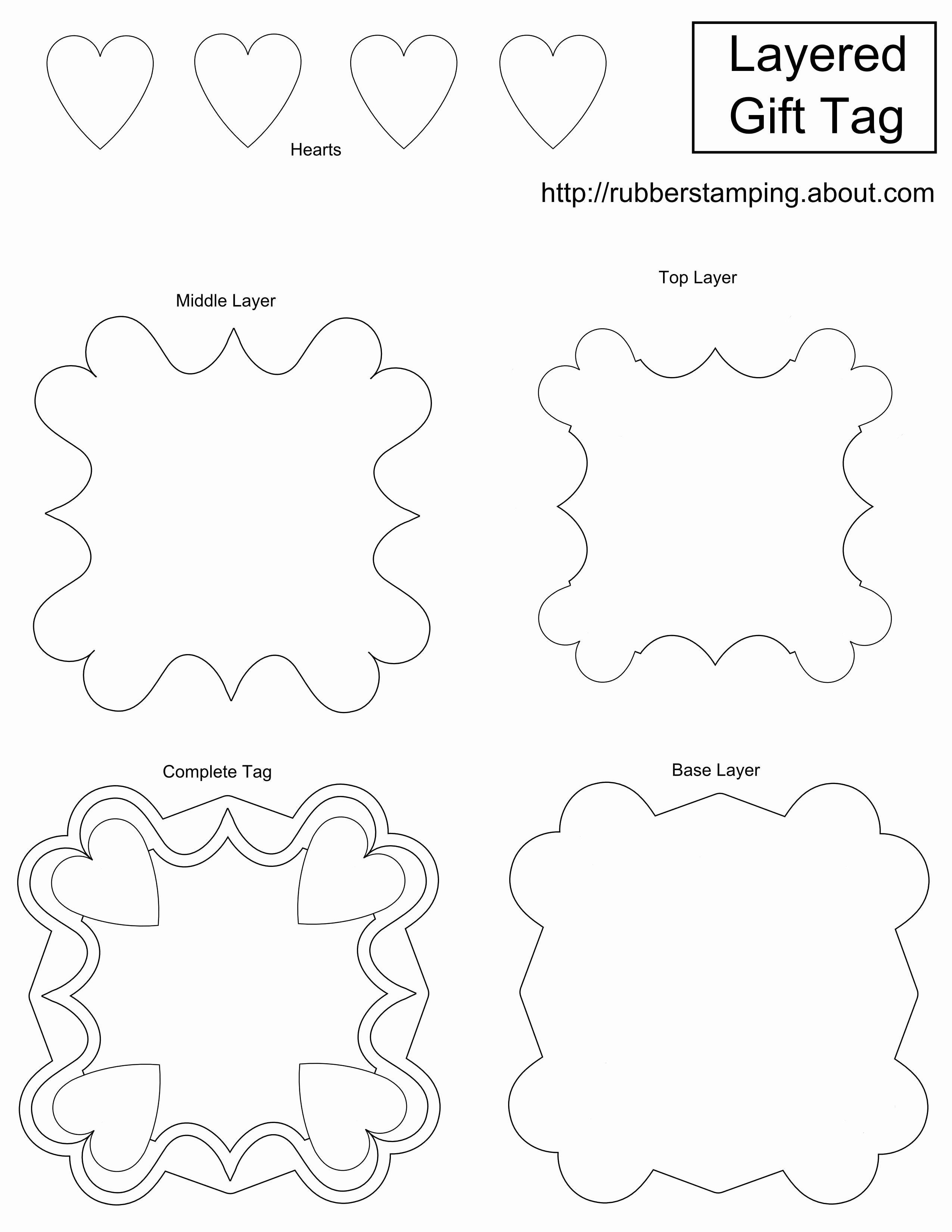 Printable Gift Tag Template New Free and Whimsical Printable Gift Tag Templates