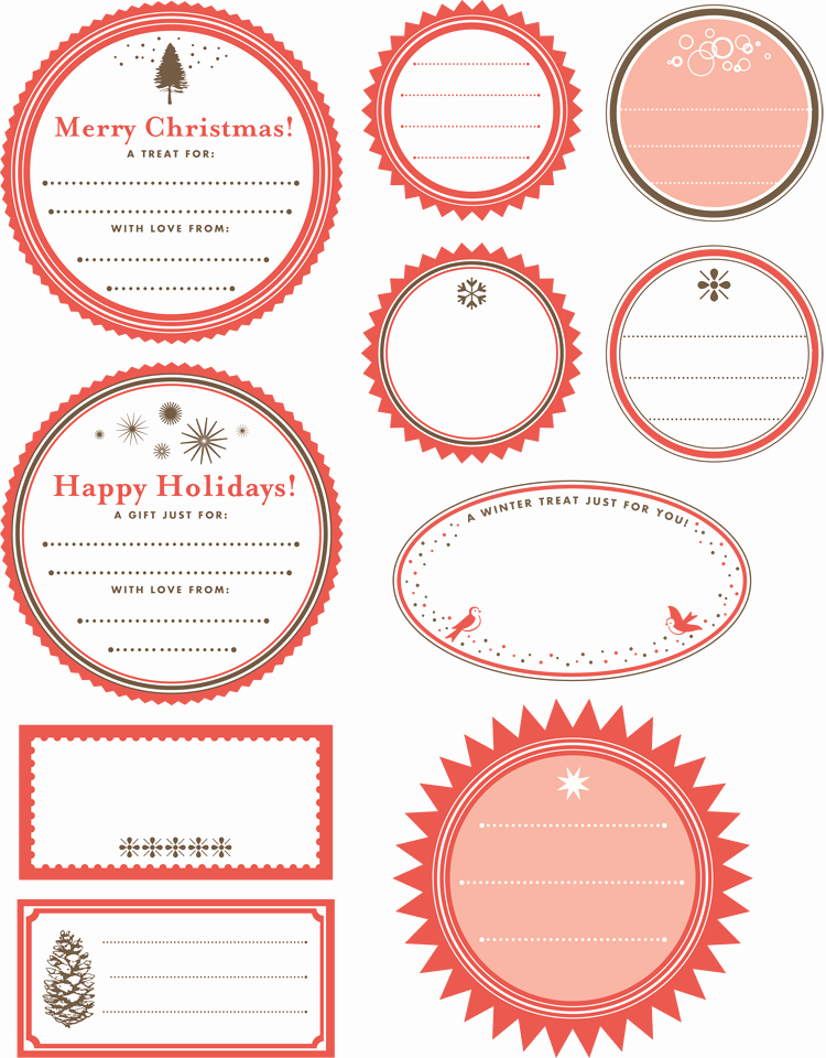 Printable Gift Tag Template Unique Printable Gift Tag Templates Print Free Gift Wrapping Tags