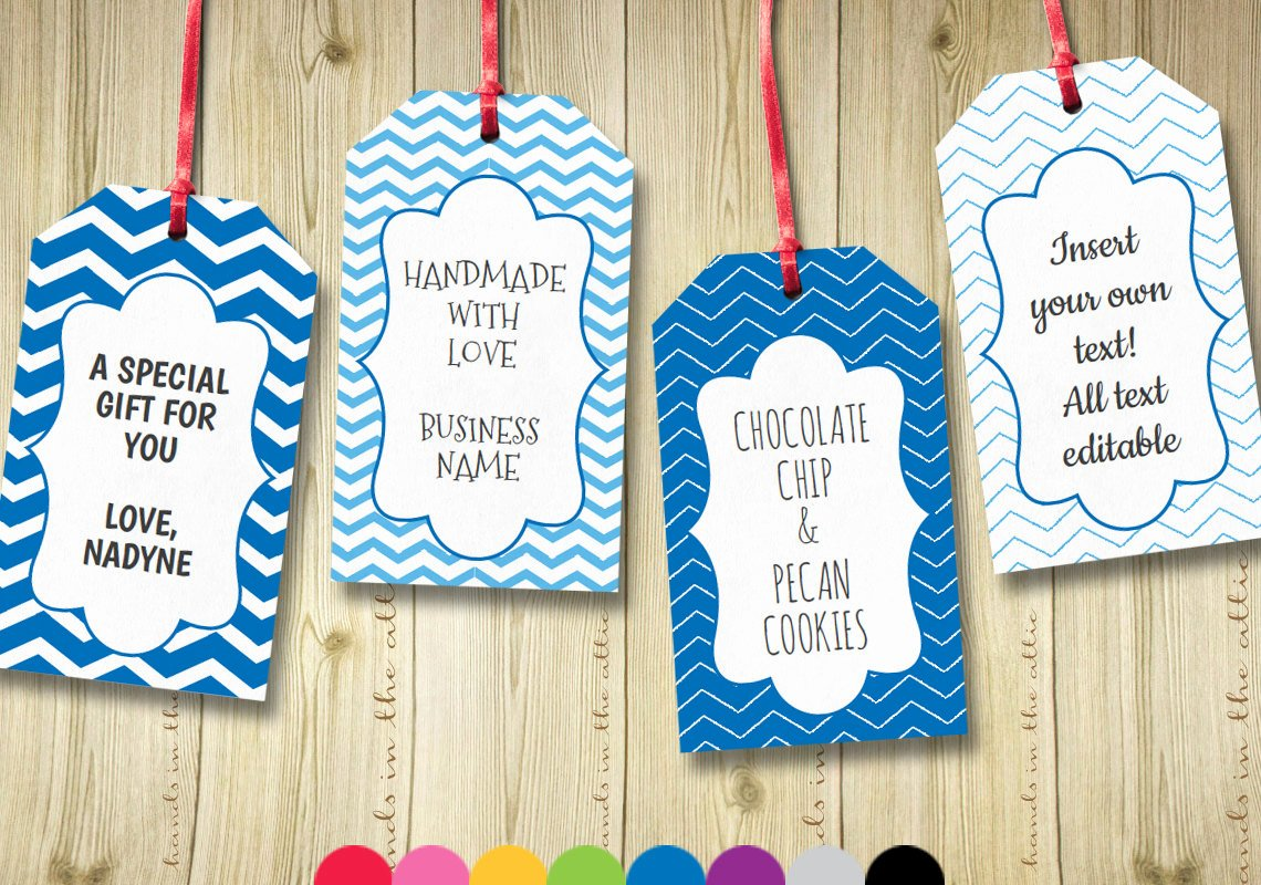 Printable Gift Tags Template Awesome Editable T Tags T Tag Template Text by Handsintheattic