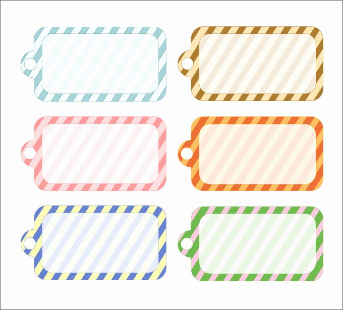 Printable Gift Tags Template Fresh Gift Tag Template 27 Free Printable Vector Eps Psd
