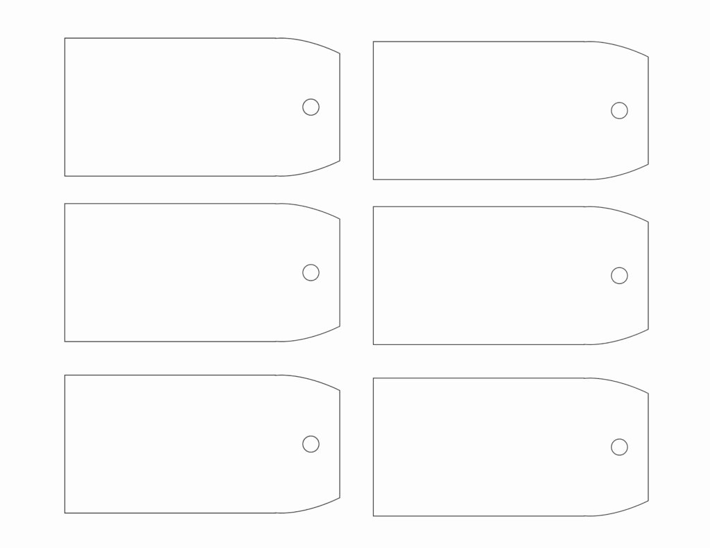 Printable Gift Tags Template Unique Printable Gift Tag Templates
