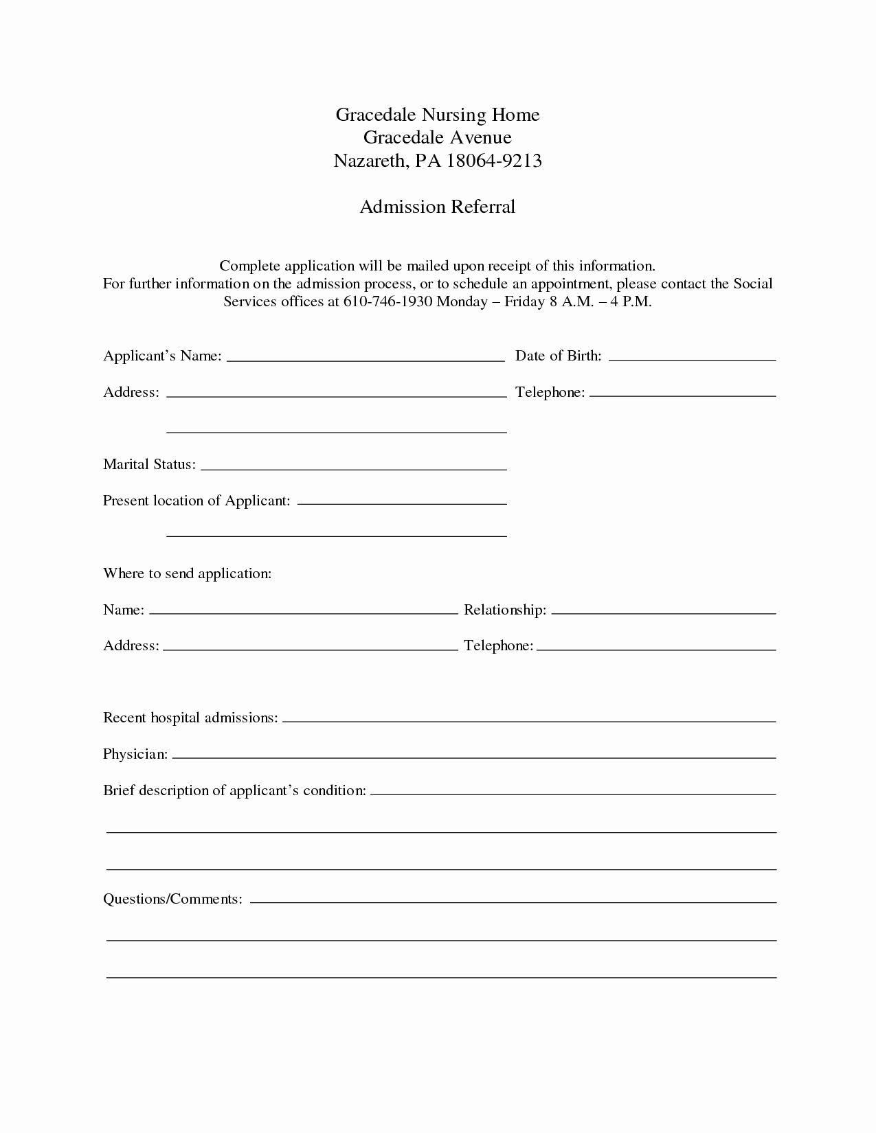 Printable Hospital Discharge Papers Best Of 9 Best Of Free Printable Hospital Discharge forms