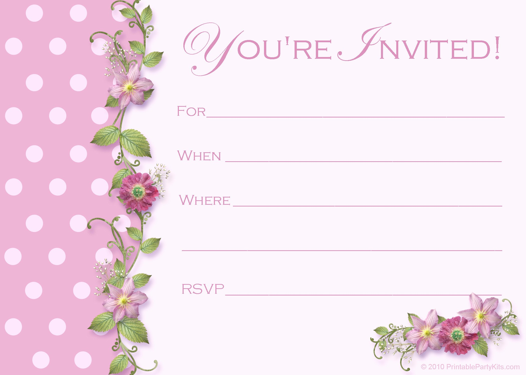 Printable Invitations for Free Awesome Free Sweet 16 Birthday Invitations – Free Printable