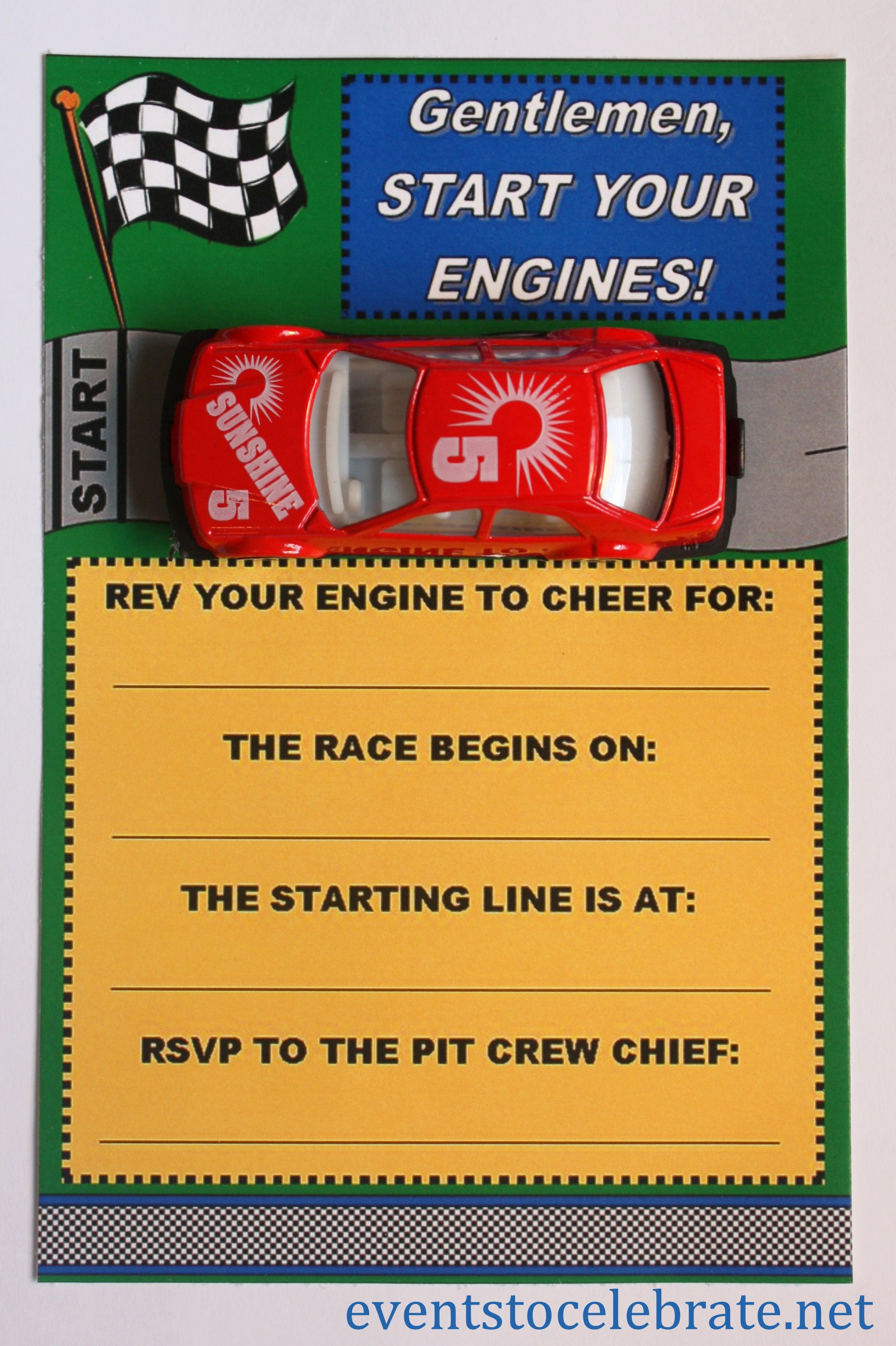 Printable Invitations for Free Beautiful Free Printable Invitations Army Car Racing & Swim Party