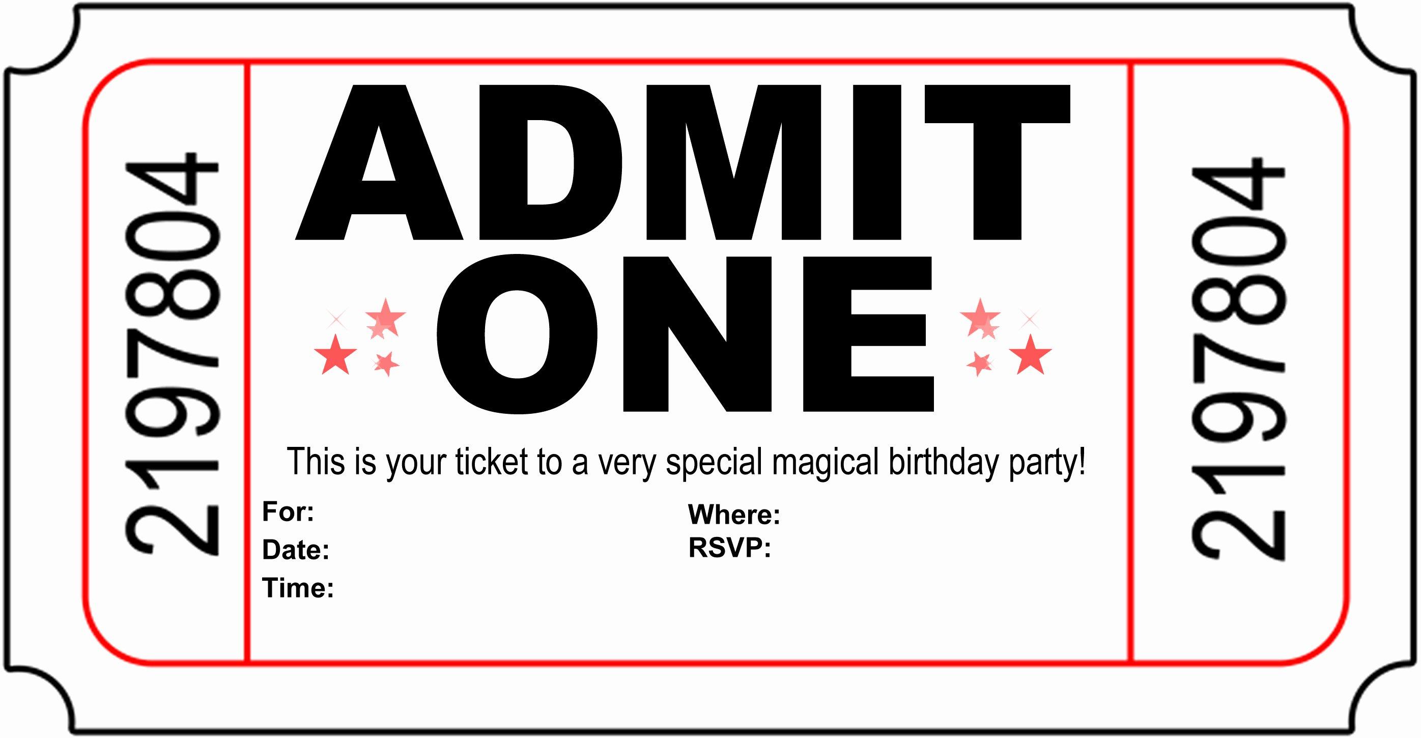 Printable Invitations for Free Elegant Free Printable Birthday Party Invitations Kansas Magician