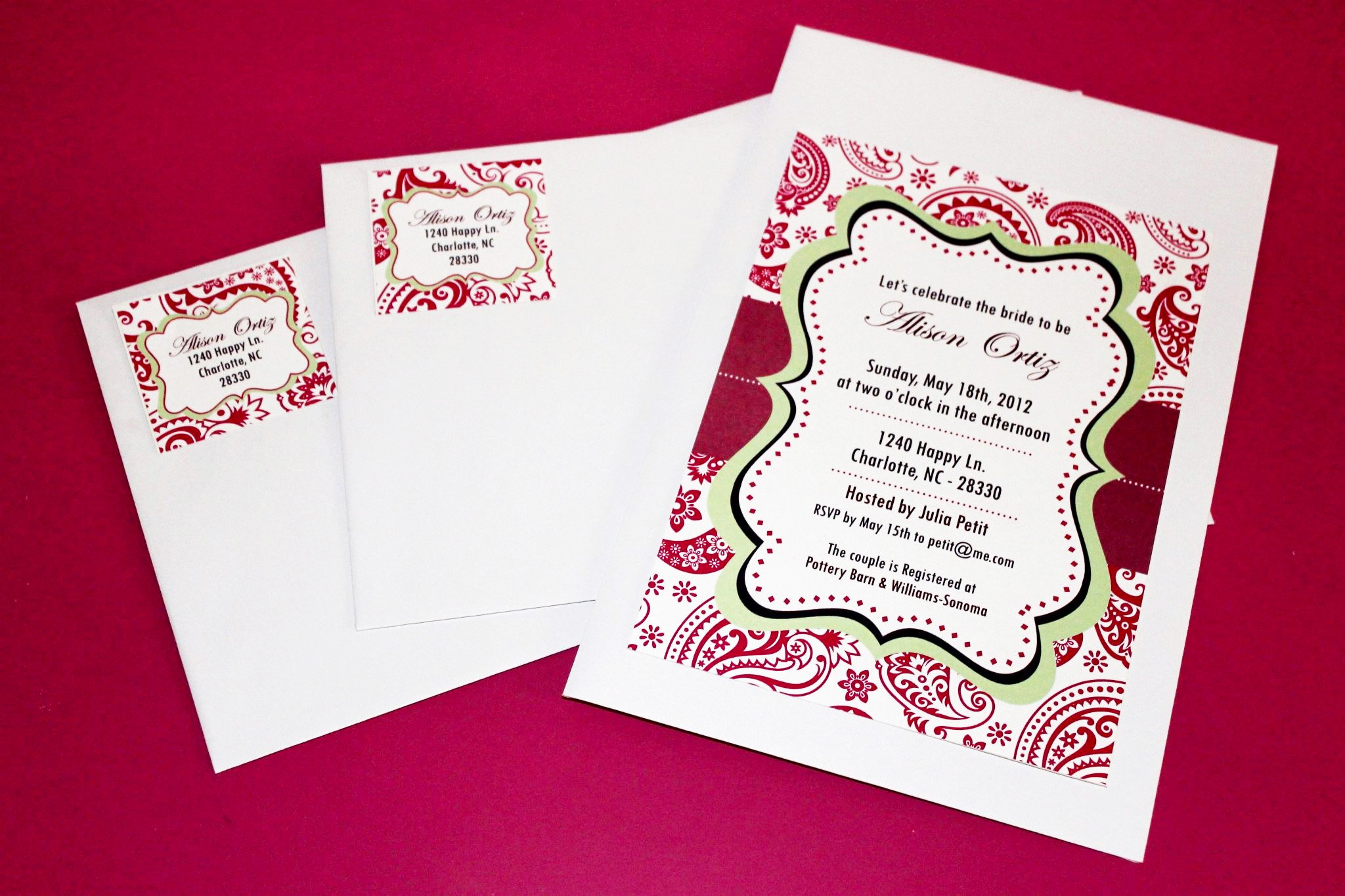 Printable Invitations for Free New Free Bridal Shower Printables From Wanessa Carolina