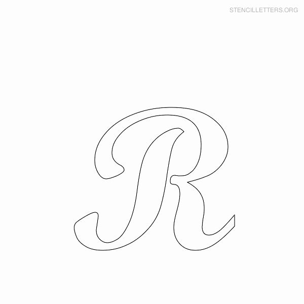 Printable Letter Stencils for Wood Awesome Alphabet Stencils On Pinterest