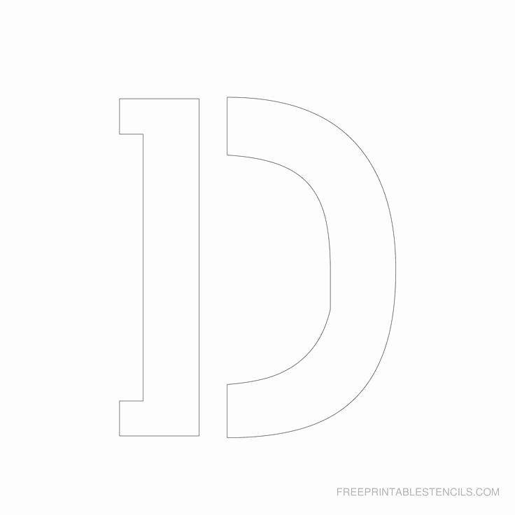 Printable Letter Stencils for Wood Lovely Printable 5 Inch Letter Stencils Lettering