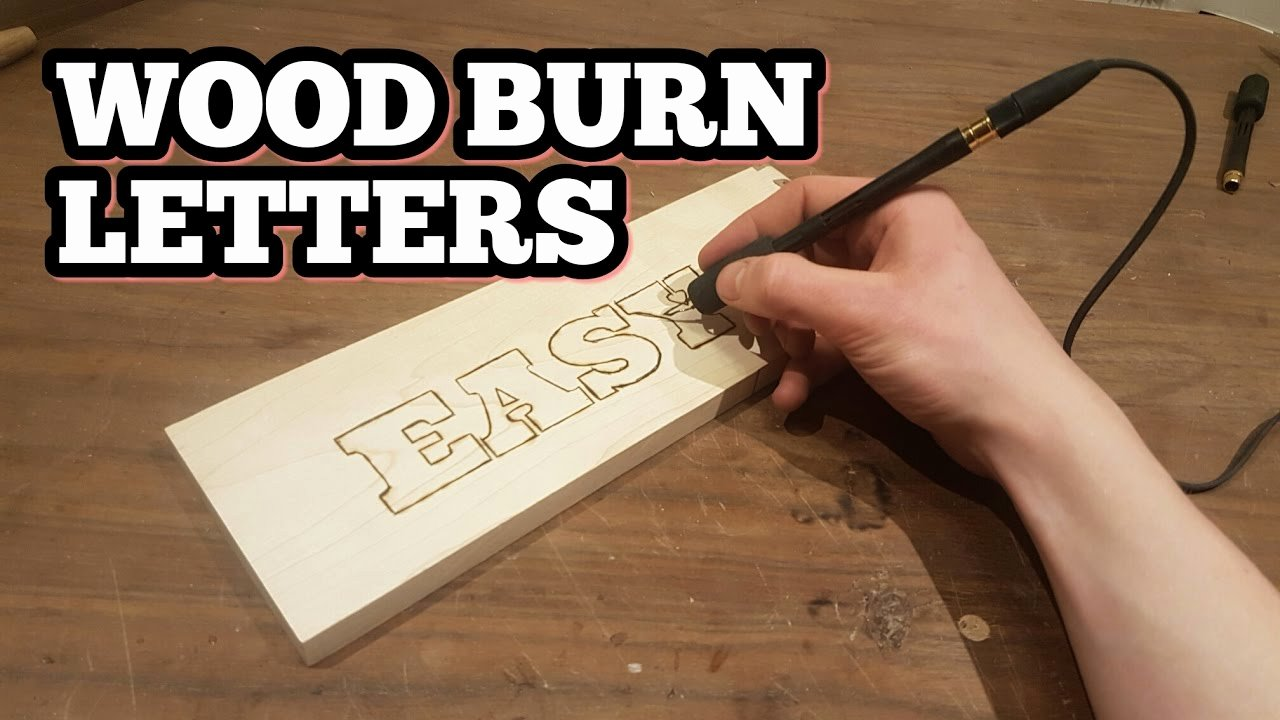 Printable Letter Stencils for Wood New How to Wood Burn Letters