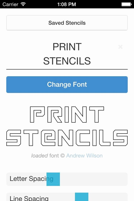 Printable Letter Stencils for Wood Unique Free Stencil Maker Make Printable Alphabet Letter and