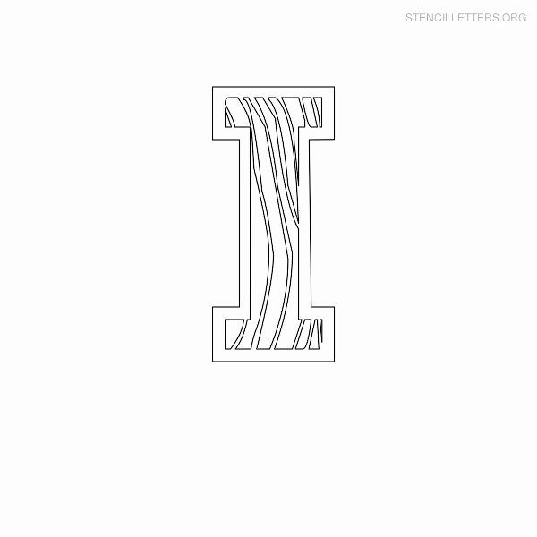Printable Letter Stencils for Wood Unique Stencil Letters I Printable Free I Stencils