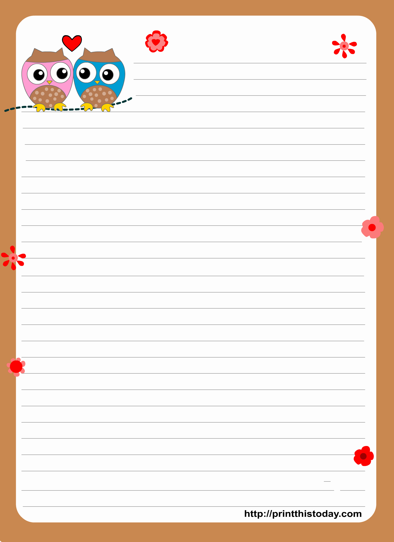 Printable Letter Writing Template Luxury 1000 Images About Free Printable Stationary On Pinterest