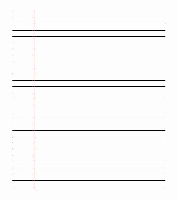 Printable Lined Paper College Ruled Luxury Printable College Ruled Notebook Paper Research Paper