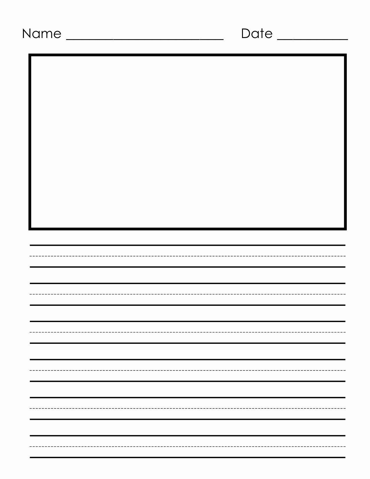 Printable Lined Paper for Kids Awesome Pin by Heather Riddle On Home School Resources