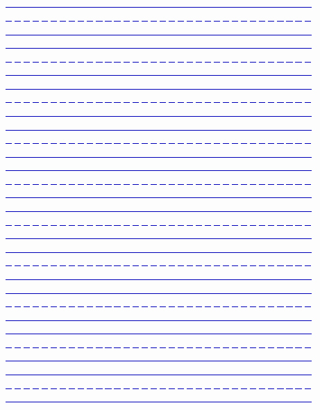 Printable Lined Paper for Kids Beautiful Printable Handwriting Paper New Calendar Template Site