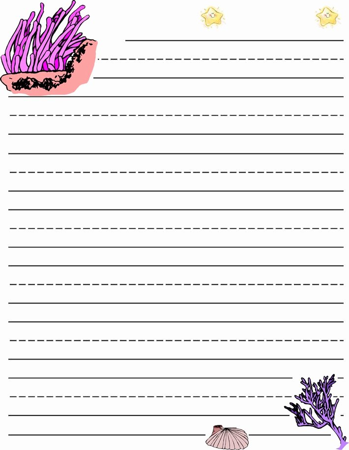 Printable Lined Paper for Kids Fresh Lined Paper for Kids