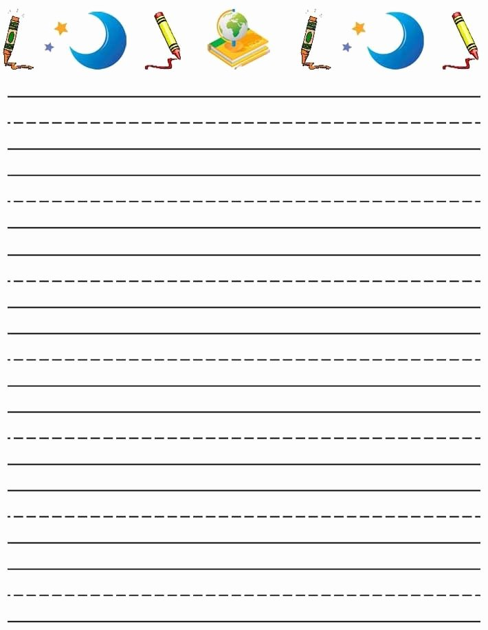 Printable Lined Paper for Kids Inspirational 41 Best Notebook Paper Templates Images On Pinterest