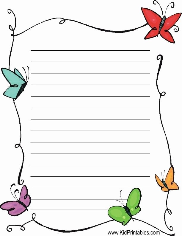 Printable Lined Stationery Paper Beautiful Best 25 Free Printable Stationery Ideas On Pinterest