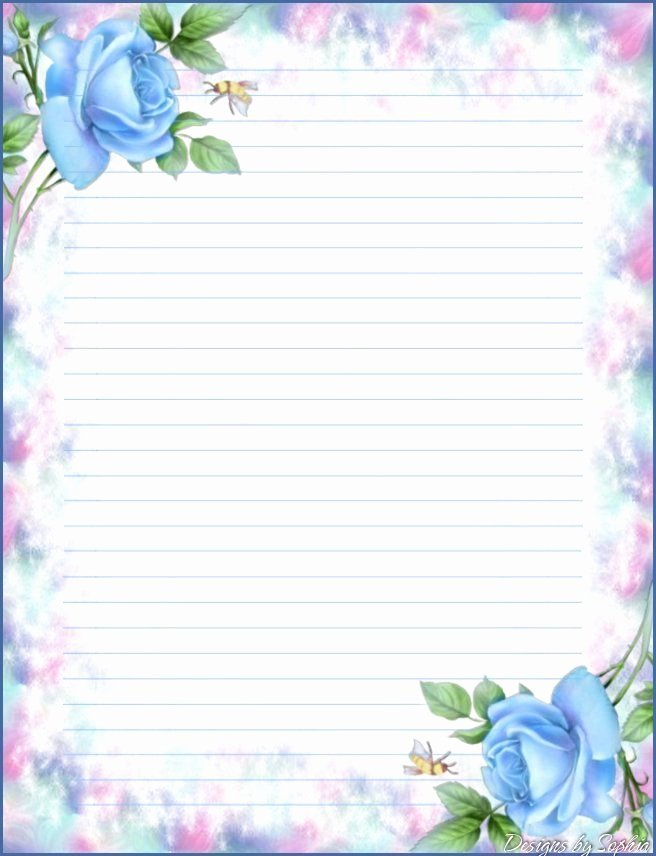 Printable Lined Stationery Paper Fresh Printable Stationary 1 Creativereflections