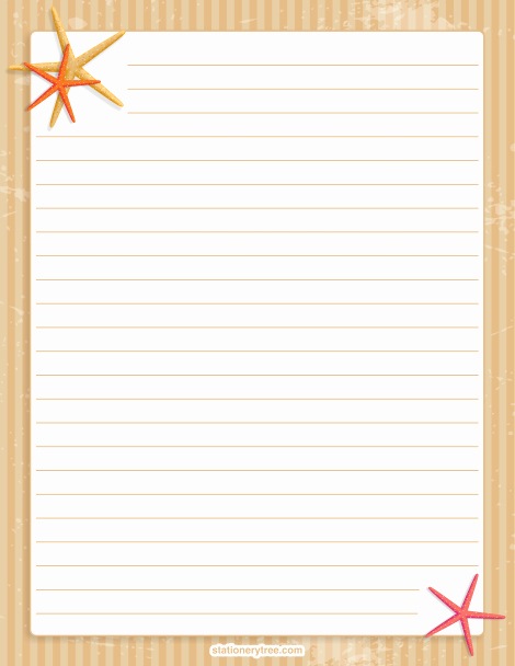 Printable Lined Stationery Paper Lovely Pin by Muse Printables On Stationery at Stationerytree