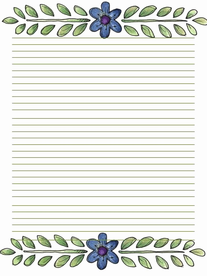 Printable Lined Stationery Paper New 59 Best Stationery Printable Images On Pinterest