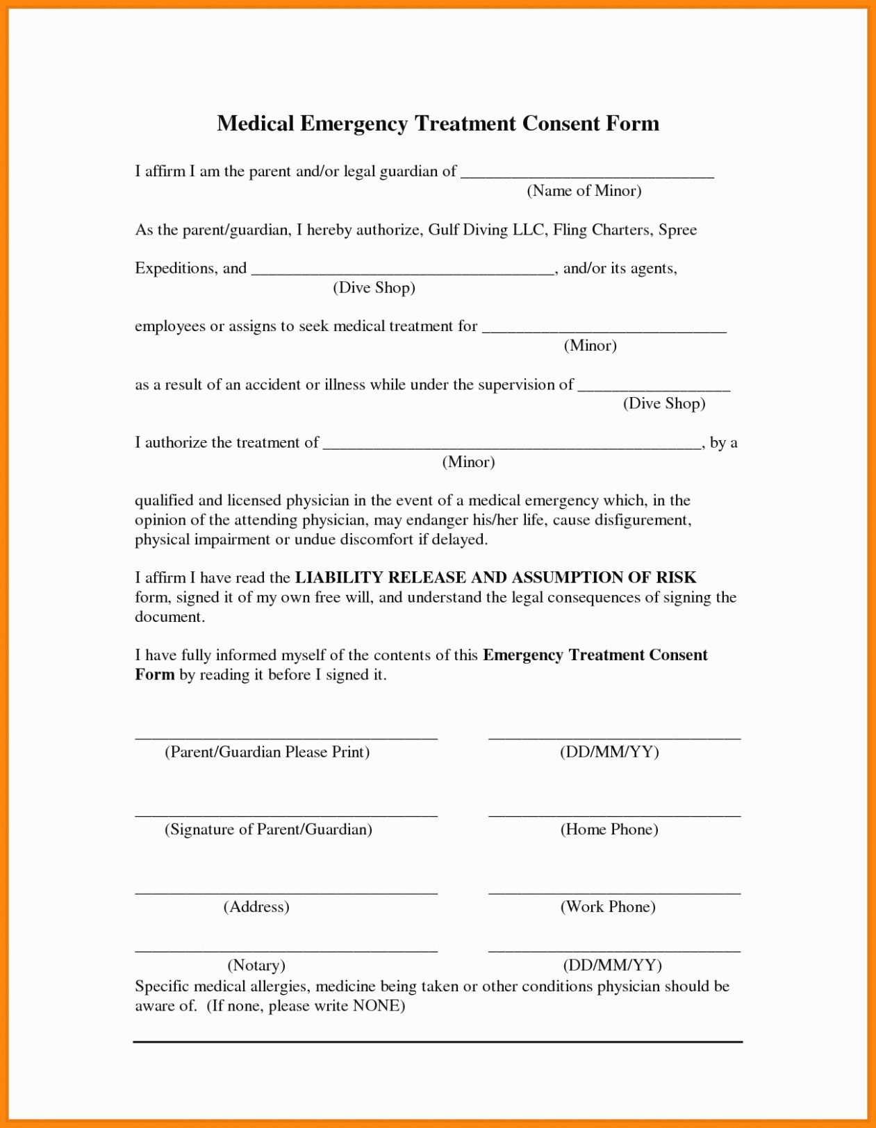 Printable Medical Consent forms Awesome why You Must Experience Temporary Medical