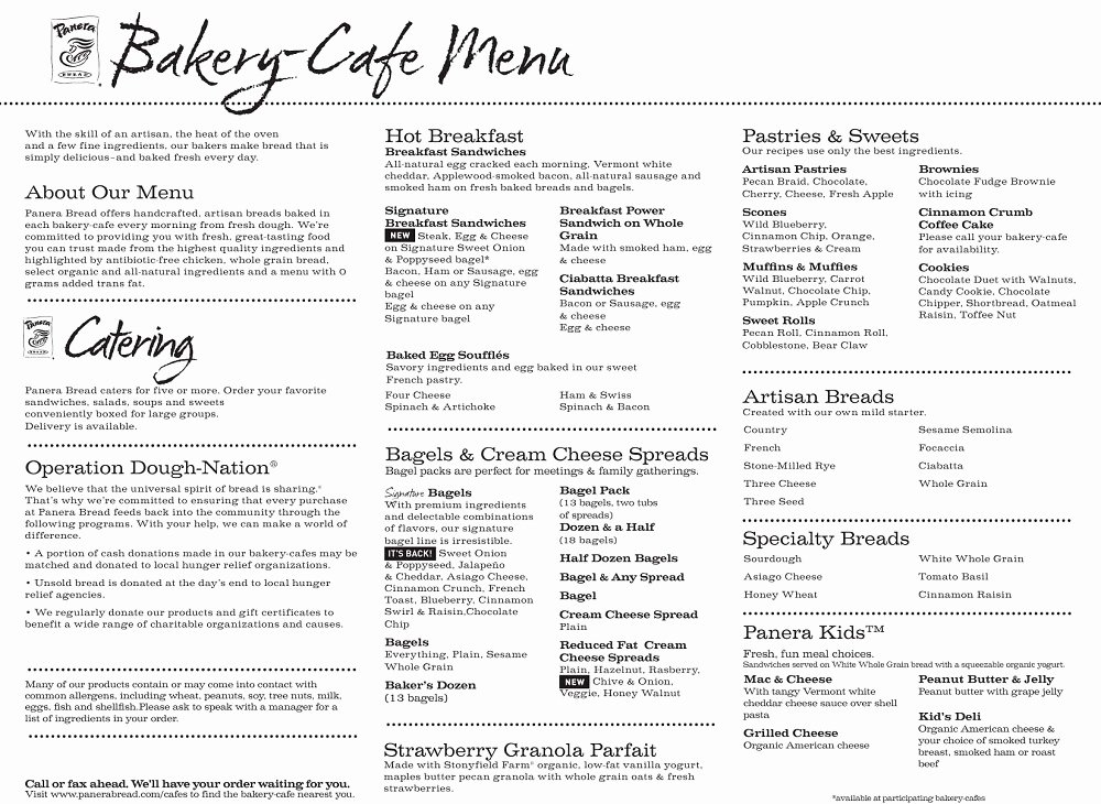 Printable Menu with Prices Best Of Menu Printable Gallery Category Page 6 Printablee