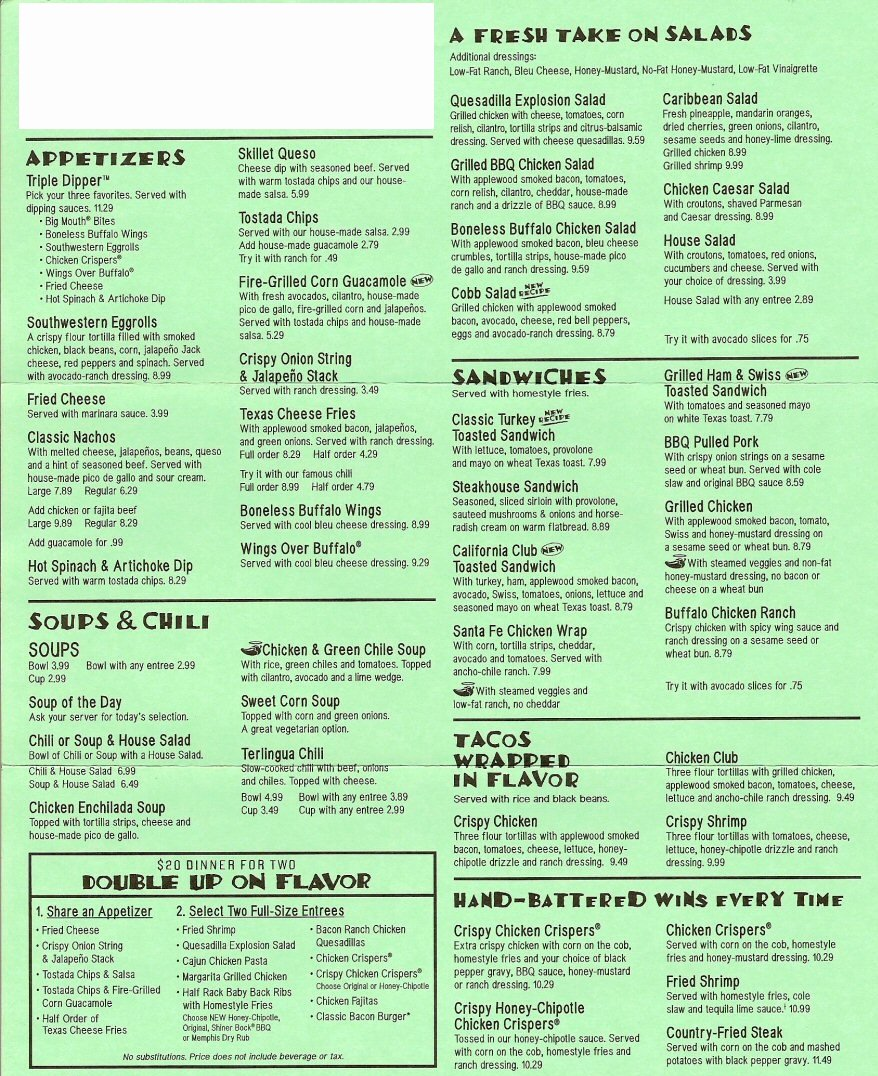 Printable Menu with Prices New Menu Printable Gallery Category Page 1 Printablee